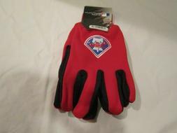 Philadelphia Phillies Official Winter Utility Gloves OSFM NW