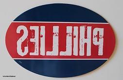 Philadelphia Phillies Oval Car Truck RV Magnet Baseball MLB