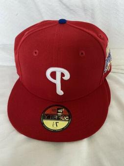 Philadelphia Phillies Red 1996 Allstat Game Fitted Hat Size