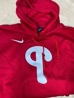 Philadelphia Phillies Red Hoodie Sweatshirt - Nike BRAND NEW