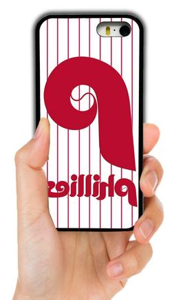 PHILADELPHIA PHILLIES RUBBER PHONE CASE FOR IPHONE XS MAX XR
