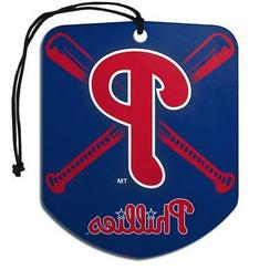 Philadelphia Phillies Shield Design Air Freshener 2 Pack  ML