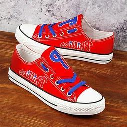 Philadelphia Phillies Shoes Unisex Baseball Shoes MLB Shoes