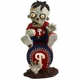 Philadelphia Phillies - Sitting on Logo Zombie - Decorative