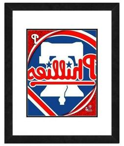 philadelphia phillies team logo framed print picture