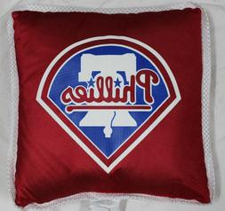 PHILADELPHIA PHILLIES THROW PILLOW ~NEW~MLB GEAR