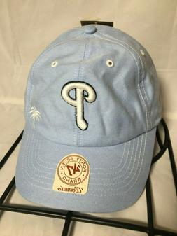 Philadelphia Phillies Women's Blue Spring Training Adjustabl