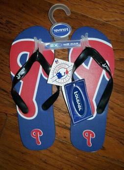 Philadelphia Phillies Women's MLB Flip Flops XS 5-6 NWT $19.