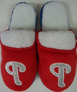 Philadelphia Phillies Women's Slippers Scuffs Forever Collec