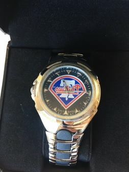 PHILADELPHIA PHILLIES GAME TIME WRIST WATCH GREAT HOLIDAY GI