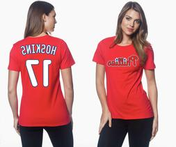 Rhys Hoskins Philadelphia Phillies #17 MLB Jersey Style Wome