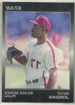 Rickey Jordan 1988 Star Philadelphia Phillies Silver Series