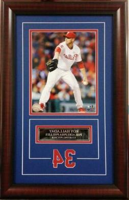 Roy Halladay Philadelphia Phillies Deluxe Framed Picture Pho