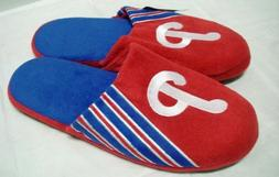 Slippers Philadelphia Phillies 2012 Team Stripe Large MLB Ba