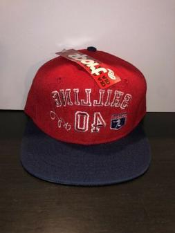 vintage philadelphia phillies curt shilling strapback cap