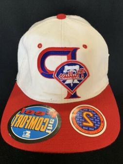 Vintage Philadelphia Phillies Starter MLB Snapback Hat Baseb